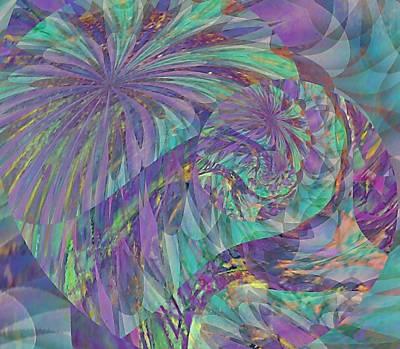 Digital Art - Singularity by Susan Maxwell Schmidt