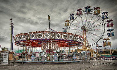 Photograph - Sinister Carnival by Sonya Lang