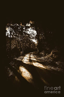 Laneway Photograph - Sinister Roadway by Jorgo Photography - Wall Art Gallery