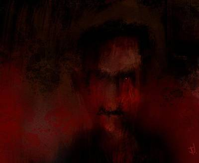 Digital Art - Sinister Sam by Jim Vance
