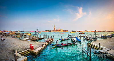Photograph - Sinking Into Venetian Beauty by JR Photography