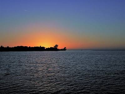 Sunset Photograph - Sinking Sun by Ric Schafer