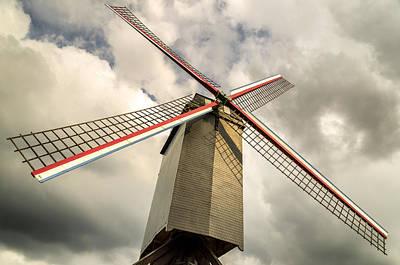 Photograph - Sint Janshuismolen Windmill 2 by Pablo Lopez