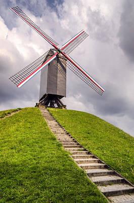 Photograph - Sint Janshuismolen Windmill by Pablo Lopez