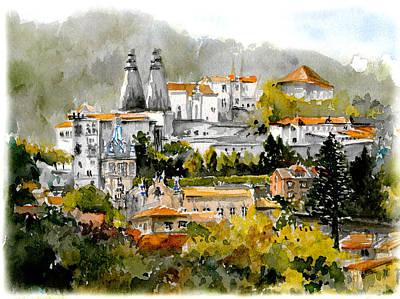 Sintra Center Palace Original by Elena Petrova Gancheva