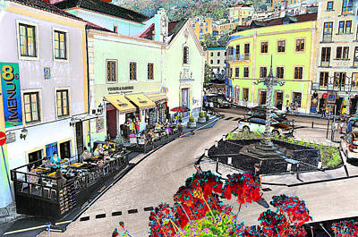 Photograph - Sintra Cityscapes by Allan Rothman