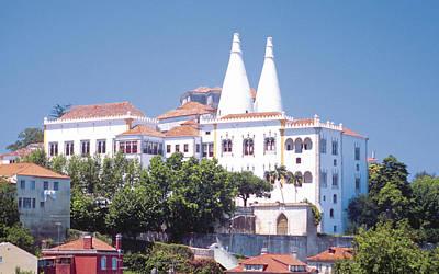 University Digital Art - Sintra National Palace by Super Lovely