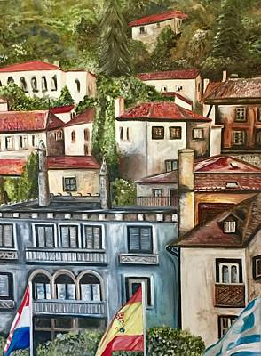 Painting - Sintra Portugal by Chuck Gebhardt