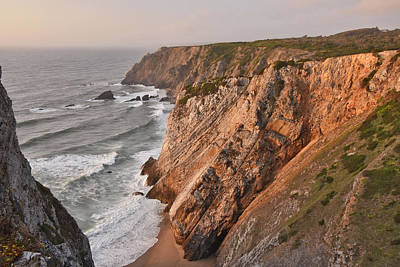 Art Print featuring the photograph Sintra Portugal Coast by Marek Stepan