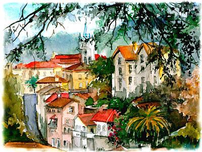 Sintra Romantic View Original by Elena Petrova Gancheva