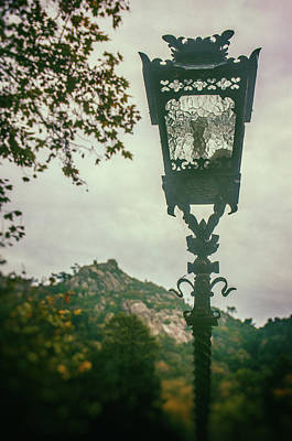 Photograph - Sintra Street Light by Carlos Caetano
