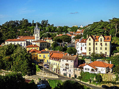 Digital Art - Sintra - The Most Romantic Village Of Portugal by Helissa Grundemann