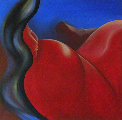 Painting - Sinuous Curves II by Fanny Diaz