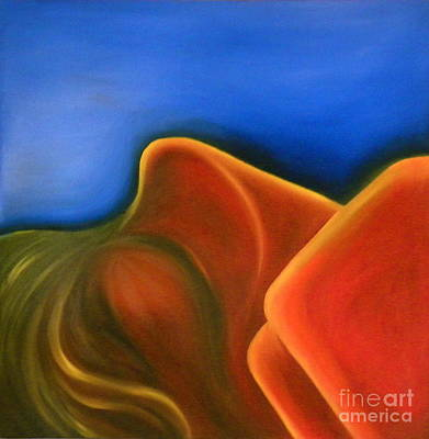 Painting - Sinuous Curves Iv by Fanny Diaz