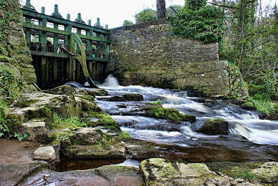 Photograph - Sion Mills Weir by Colin Clarke