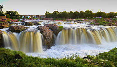 Photograph - Sioux Fall by Hyuntae Kim