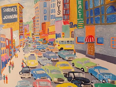 Painting - Sioux Falls 1958 by Rodger Ellingson