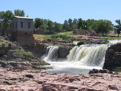 Photograph - Sioux Falls by Keith Stokes