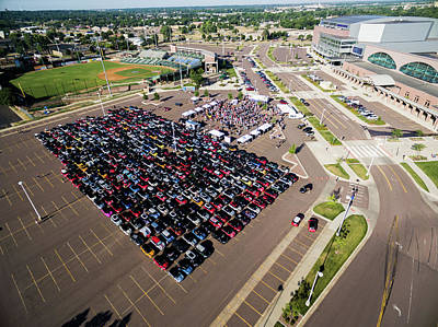 Photograph - Sioux Falls Rise/shine 1 by That MINI Show