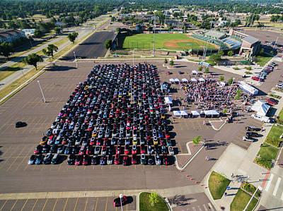 Photograph - Sioux Falls Rise/shine 2 by That MINI Show