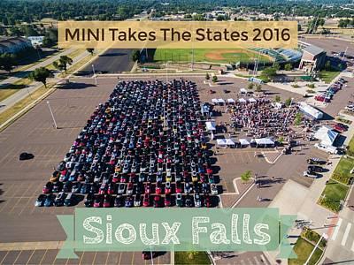 Photograph - Sioux Falls Rise/shine 2 W/text by That MINI Show