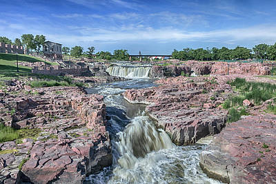 Photograph - Sioux Falls  by Susan Rissi Tregoning