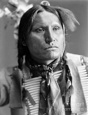 Photograph - Sioux Native American, C1900 by Granger