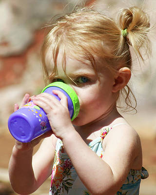 Blondie Photograph - Sippy Cup by Derrick Neill