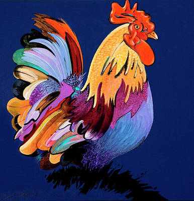 Painting - Sir Chanticleer by Bob Coonts