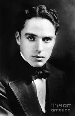 Painting - Sir Charles Spencer Chaplin  by Celestial Images