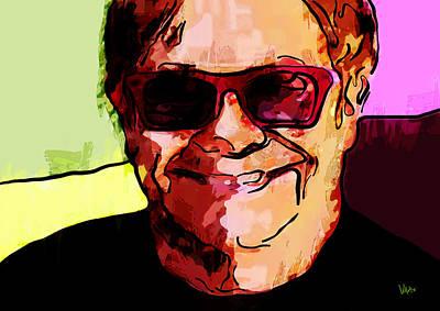 Elton John Painting - Sir Elton John by Vya Artist