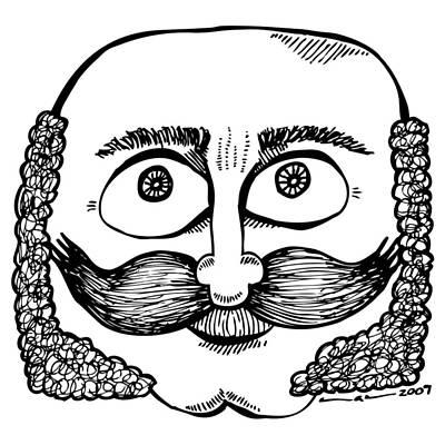 Intense Drawing - Sir Franklin by Karl Addison