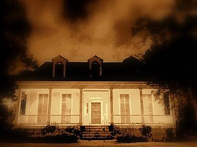 Photograph - The Explorer Sir Henry Morton Stanley Home In New Orleans by Michael Hoard