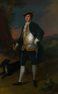 Staff Painting - Sir James Dashwood by Mountain Dreams