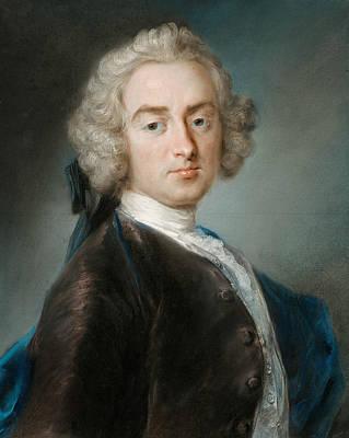 Venetian Art Pastel - Sir James Gray, Second Baronet by Rosalba Carriera