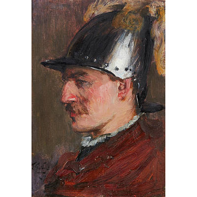 P.r Painting - Sir James Guthrie by MotionAge Designs