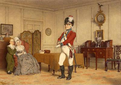 Sir John Gilpin Art Print by Amos Green