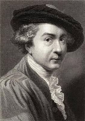Sir Joshua Reynolds,1723-1792.english Art Print