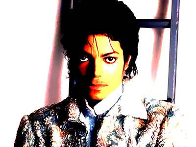 Overdose Digital Art - Sir Michael Jackson by Brian Reaves
