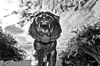 Louisiana State University Photograph - Sir Mike by Scott Pellegrin