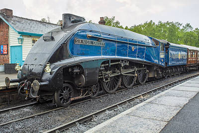 Photograph - Sir Nigel Gresley by Stewart Scott