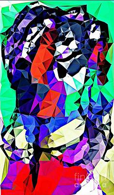Abstract Shapes Drawing - Sir Polymeer  by Paulo Guimaraes