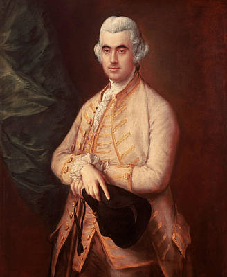 18th Century Painting - Sir Robert Clayton by Thomas Gainsborough