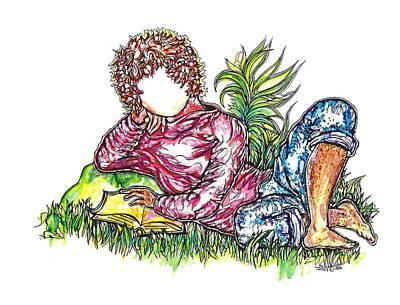 Sir Sage Art Print by Judith Herbert