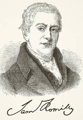Sir Samuel Romilly 1757- 1818. English Art Print