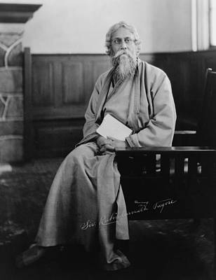 Bsloc Photograph - Sir Tagore Rabindranath, 1861-1941 by Everett