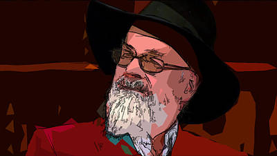 Photograph - Sir Terry Pratchett 1948-2015 by C H Apperson