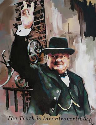 Sir Winston Churchill Victory Original