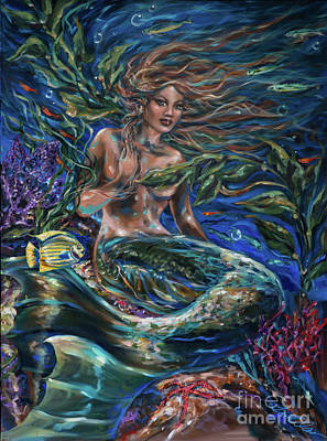 Painting - Siren Lounge by Linda Olsen