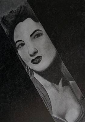 Hollywood Drawing - Siren Song I by Nick Young